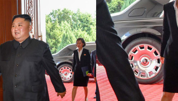 So Much For Sanctions! Kim Jong Un's New Ride Is A Rolls Royce Phantom