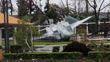 "Florida Air Force base suffers ""widespread catastrophic damage"" from Michael"