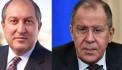 Президент Армении в Москве провел «неофициальные» переговоры с Лавровым: Коммерсант