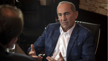 Kocharyan gives interview to Bloomberg