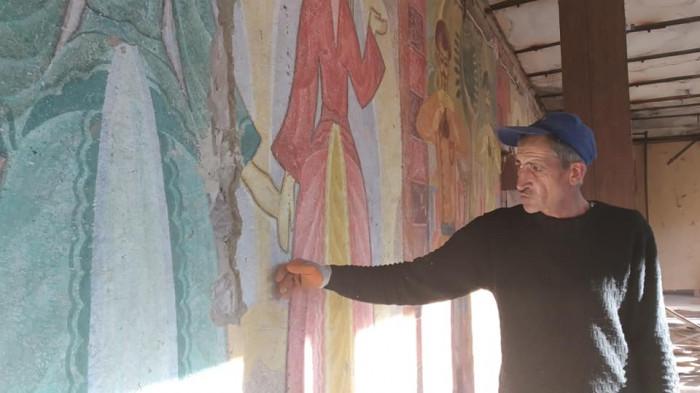 Արթիկում շինաշխատանքների ժամանակ հսկայական ու գունագեղ որմնանկար է հայտնաբերվել