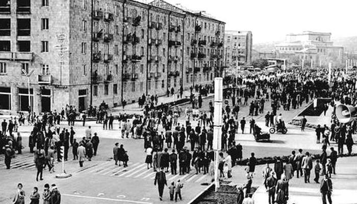 Ինչպես բացվեց Սայաթ-Նովայի պողոտան 1963-ին