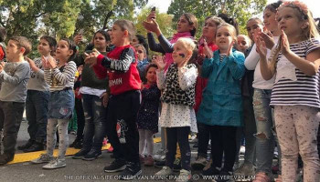 Ինչպես են «Երևան 2800» հոբելյանական օրը մանուկները նշել Մանկական զբոսայգում