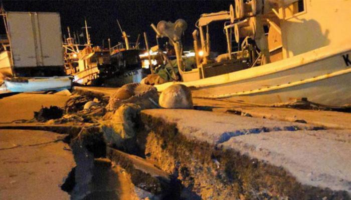 6.4 Magnitude Earthquake Hits Zakynthos Island