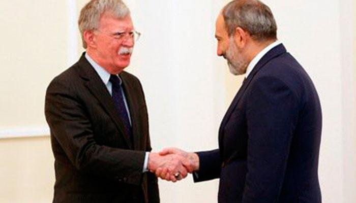 В МИД России прокомментировали «армянские» высказывания Болтона
