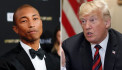 Pharrell Williams Sends Trump Legal Threat Letter for Playing 'Happy' After Synagogue Shooting