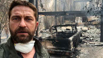 Actor Gerard Butler shares photo of Malibu home destroyed by California wildfire