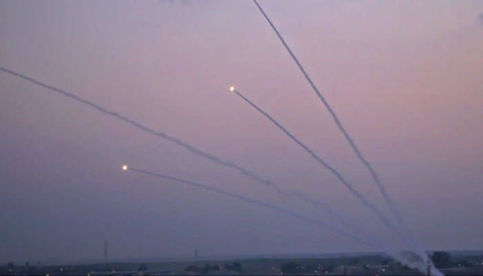 One killed as 370 rockets launched from Gaza hit Israel's south