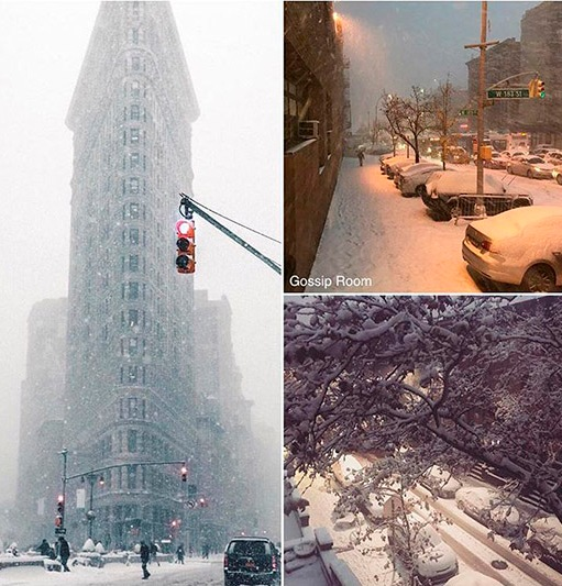 NYC weather: 1st snow of the season hits the 5 boroughs