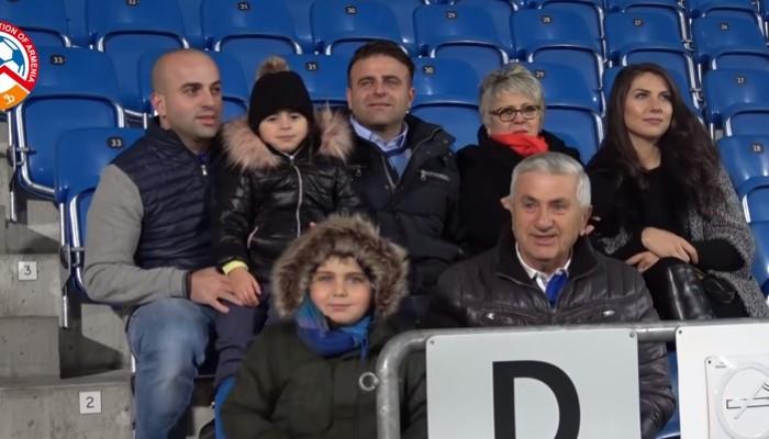 Լիխտենշտեյնում ապրող միակ հայկական ընտանիքի հուզմունքը՝ Հայաստանի հավաքականի մարզմանը