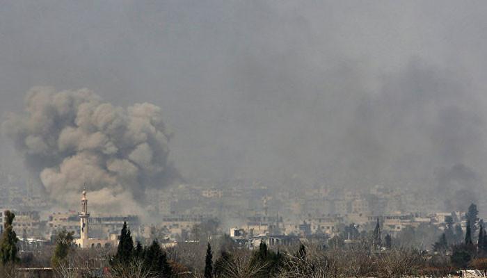 В Сирии двадцать человек погибли при ударе западной коалиции