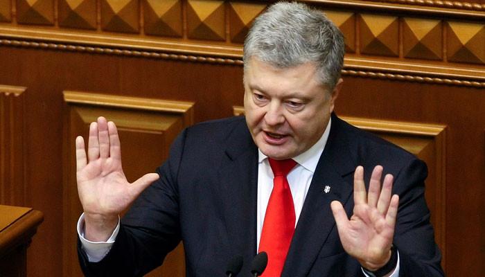 """Порошенко: """"Украина находится под угрозой полномасштабной войны с Российской Федерацией"""""""