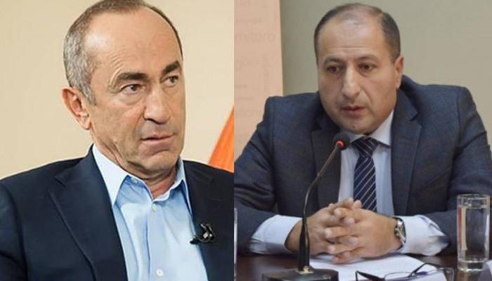 Айк Алумян: Судья не прокомментировал сообщения СМИ об аресте Кочаряна 1 декабря