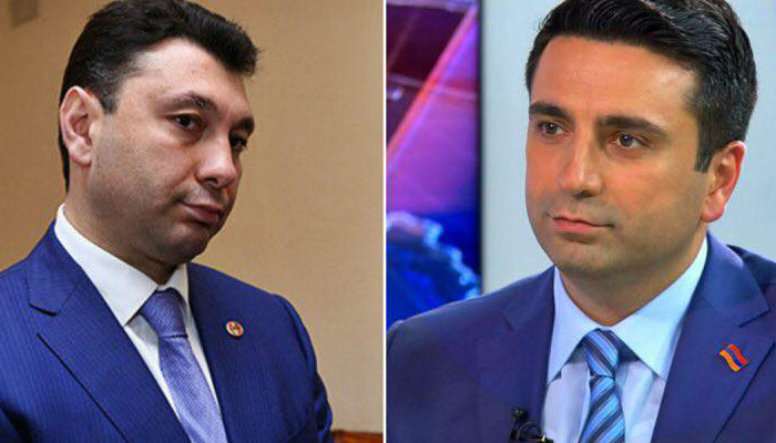 Ален Симонян призвал Эдуарда Шармазанова не переходить границы корректности