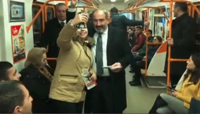 «Ձեզ տեսնելու համար Չարբախ էլ կհասնեմ». մետրոյի ուղևորներն անակնկալի եկան
