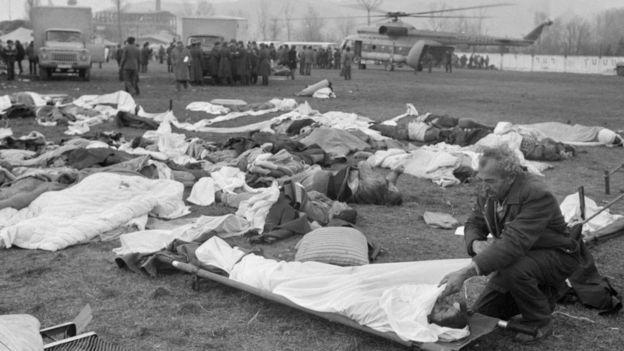 30 տարի անց բրիտանացի փրկարարները վերադարձել են Սպիտակ