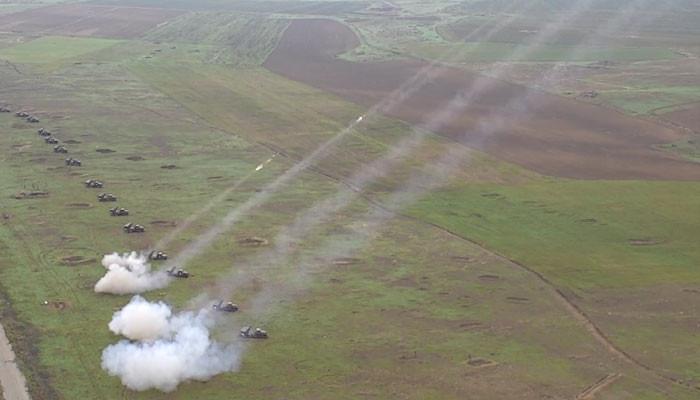 ՊԲ հրետանին մարտական կրակով զորավարժություն է անցկացրել «Գրադներով» (տեսանյութ)