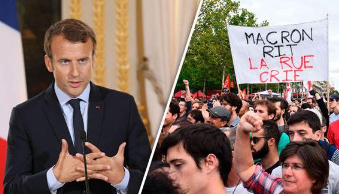 French President Macron declares economic emergency