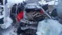 Մերկասառույցի պատճառով բախվել են ավտոմեքենան ու ավտոբուսը. 3 հոգի տեղում մահացել է, կան վիրավորներ