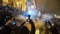 Protesters besiege Hungarian parliament, clash with police over 'slave law'