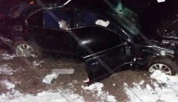 Ողբերգական վթար Սյունիքում. վարորդի 5-ամյա աղջիկը տեղում մահացել է, 5 հոգի հիվանդանոցում է