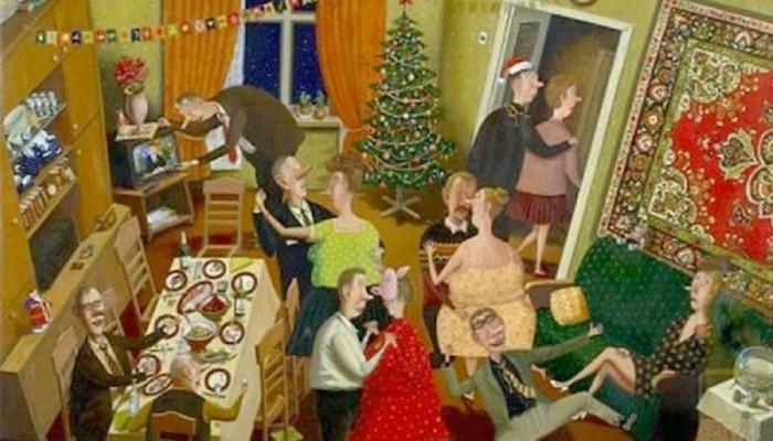 Վալենտին Գուբարյով, «Նոր տարի»