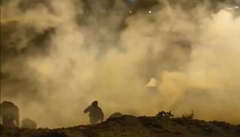 Dust storm arrives in Australia on New Year