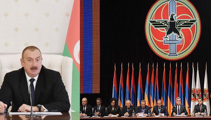 Алиев призывает расследовать «коньячную дипломатию»