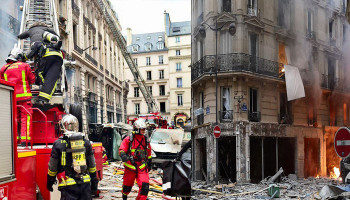 Paris 'gas explosion' kills four in city centre