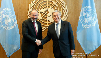UN Secretary-General sends congratulatory message to RA Prime Minister