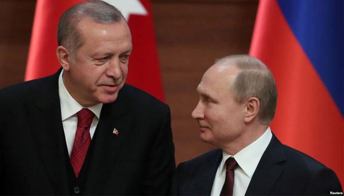 Erdoğan-Putin görüşmesinde gündem Suriye'de güvenli bölge