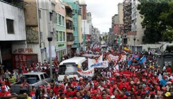 Tens of Thousands in Venezuela Join Protests Against Maduro
