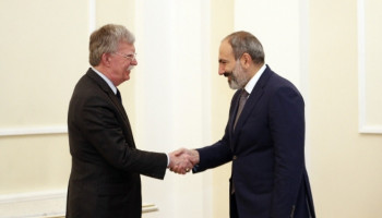 The U.S. supports his efforts to secure a prosperous future for Armenia. Bolton
