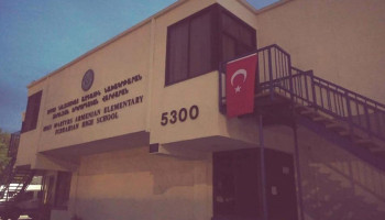 Armenian Schools in California Vandalized with Turkish Flags
