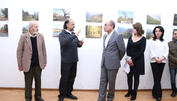 Naregatsi Art Institute unveiled Mher Ghazaryan's photo exhibition