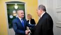 Արմեն Սարգսյանը հանդիպել է Ալբանիայի նախագահի հետ