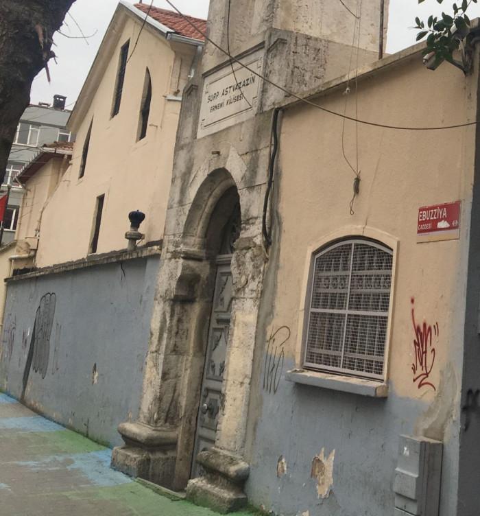 Türkiye'de Ermeni kilisesine karşı sıradaki vandalizm eylemi