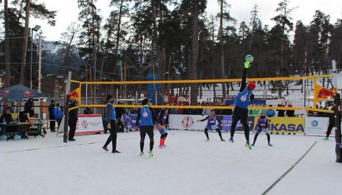 Հայաստանի հավաքականը հաղթանակով մեկնարկեց ձյան վոլեյբոլի Եվրոպայի տուրում