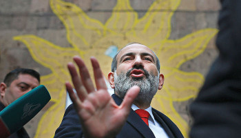 "The Christian Science Monitor: ""Peaceful revolutionary: Can Armenia's prisoner-turned-prime minister govern?"""