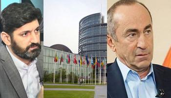 «Տեղեկացնեմ, որ ՄԻԵԴ-ը չի քննել նախագահ Քոչարյանին առաջադրված մեղադրանքի կապակցությամբ որևէ գործ». Վահե Գրիգորյան