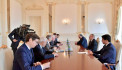Алиев принял посредников по Карабаху
