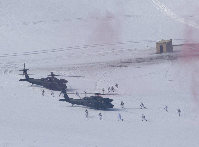 Turkey holding Kış 2019 military exercises in Kars