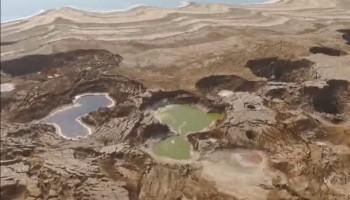 Мертвое море умирает