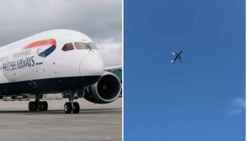British Airways flight from Heathrow diverted to Malaga after dramatic aborted landing