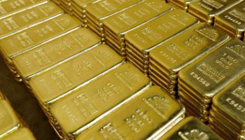 The United States exported about 50 tons of gold from Syria