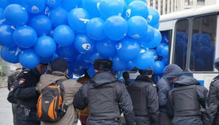 Митинг против изоляции рунета завершился