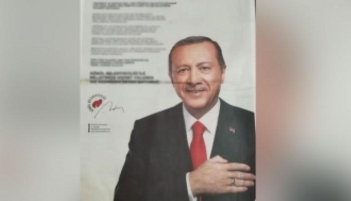 Թուրքիայում հետաքննություն է սկսվել Էրդողանի նկարը հատակին փռած վարորդի դեմ