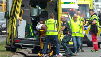 Many dead in New Zealand shooting at two mosques during Friday prayers