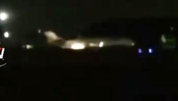 Ականատեսները նկարահանել են՝ ինչպես է վայրէջքի պահին բռնկվում իրանական ինքնաթիռը