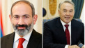 Prime Minister Pashinyan holds phone conversation with Nursultan Nazarbayev